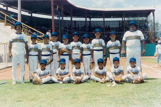 Representativo de Jalisco en el campeonato nacional menor 1986
