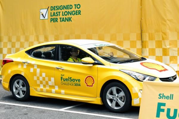 kenderaan rasmi cabaran shell fuelsave