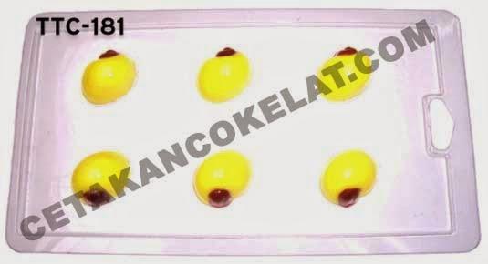Cetakan Coklat TTC181 Hewan Keong