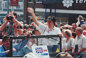 Organisator van het bevrijdingsfeest in 1995 in Enschede.