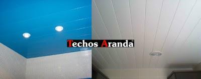 Falso Techo Lamas Aluminio Madrid
