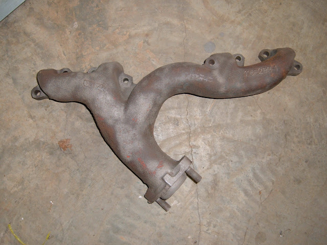 1959-1960 left dual exhaust manifold. Call for price