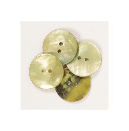 DROPS Knapp Pärlemor - grön [620/611]