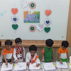 Republic Day Celebrated by Playgroup Afternoon Section at Witty World, Chikoowadi (2017-2018)