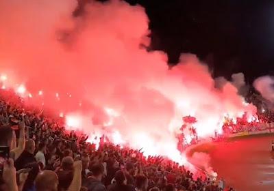 🎥 Knotsgekke beelden uit Servië, waar 25.000 supporters Partizan zien winnen in stadsderby zonder enig spoor van coronamaatregelen