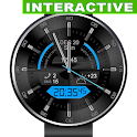 Glossy Combo Watch Face icon