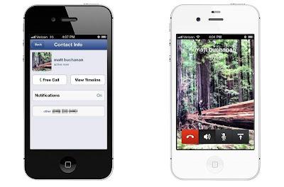 Facebook Messenger para iPhone ahora con llamadas VoIP gratuitas