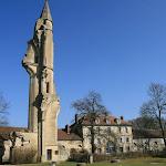 Abbaye de Royaumont : ruines de l'église