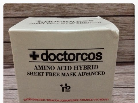 [Review] Doctorcos - Amino Acid Hybrid sheet Free Mask Advanced