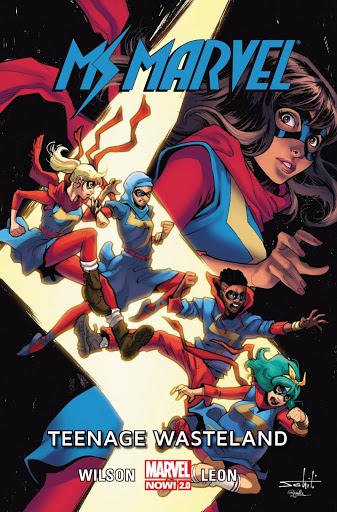 Ms Marvel tom 9 okładka