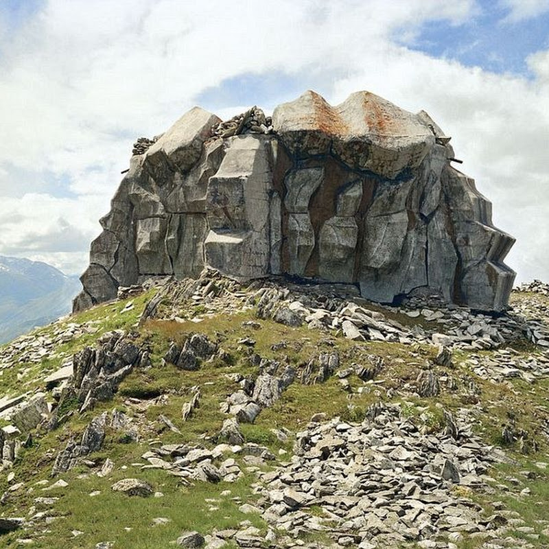 The Camouflaged Military Bunkers of Switzerland