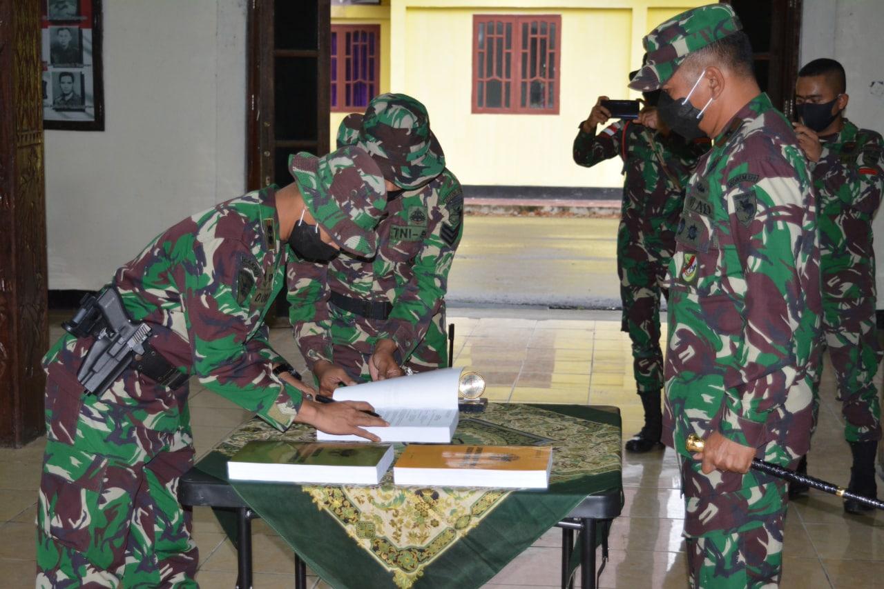 Danrem 174 Merauke Pimpin Serah Terima Satgas Pamrahwan di Wilayah Mimika