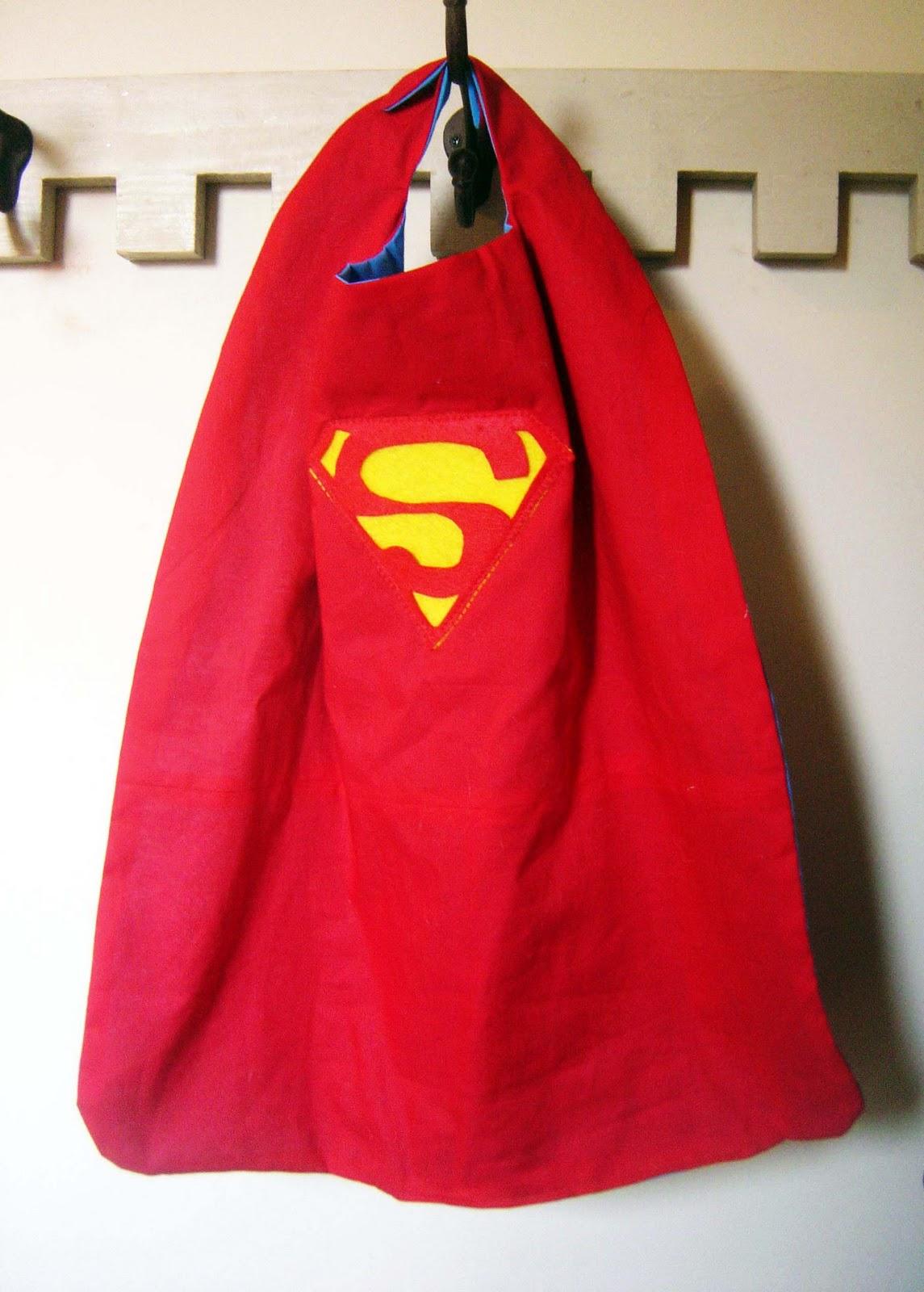 Superhero Cape Flying Craft: superman cape