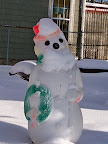 Edinburgh Street snowman