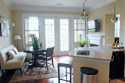 "111010 Atlanta,GA:""Custom counter tops are in the kitchen and appliances are Gen Air. Center Island opens the space up and makes it easy for entertaining.""  (Christopher Oquendo/Special)"