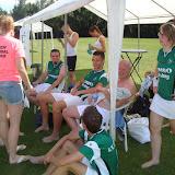 Beachkorfbal bij KC De Hoeve