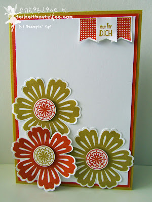 stampin up, mixed bunch, incolors, banner banter, sags mit fähnchen