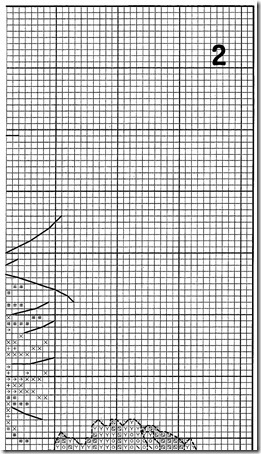 zorro con amapolas punto de cruz  (7)