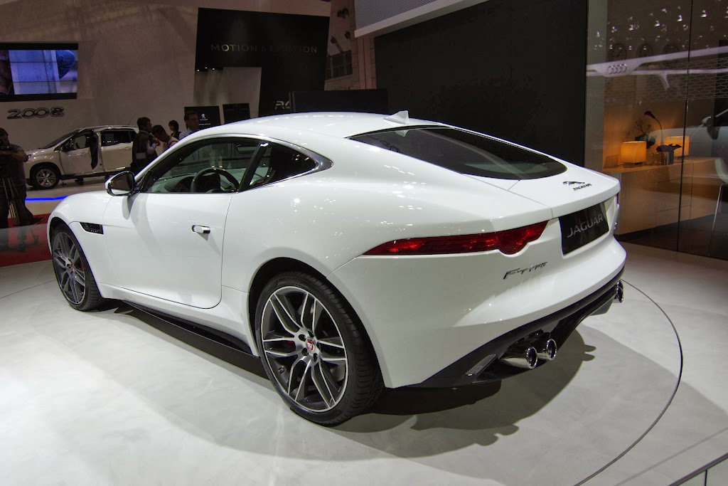 Jaguar F-Type Coupe 14