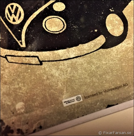 Licenstillverkade-VW-Julkort-Plåt