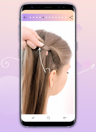 Hairstyles step by step 1.23 screenshots 3