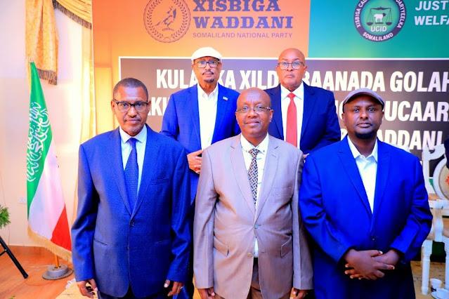 Magacyada:- Guddoomiyaha iyo labada ku-xigeen ee golaha wakiilada Somaliland oo la shaaciyey