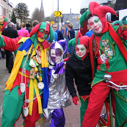 Sleuteloverdracht - Optocht Molenschot - Carnavalsmis