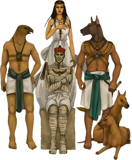 Egypt Gods, Egyptian Magic