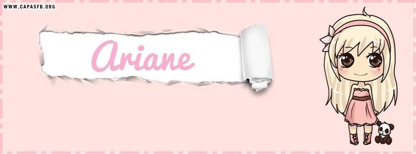 Capas para Facebook Ariane