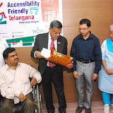 Launching of Accessibility Friendly Telangana, Hyderabad Chapter - DSC_1224.JPG