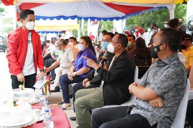 Apresiasi Karya Anak Bangsa, Pangdam XIV/Hsn  Borong Si Gesits
