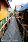 Between stilts houses