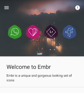 Embr - Icon Pack Screenshot