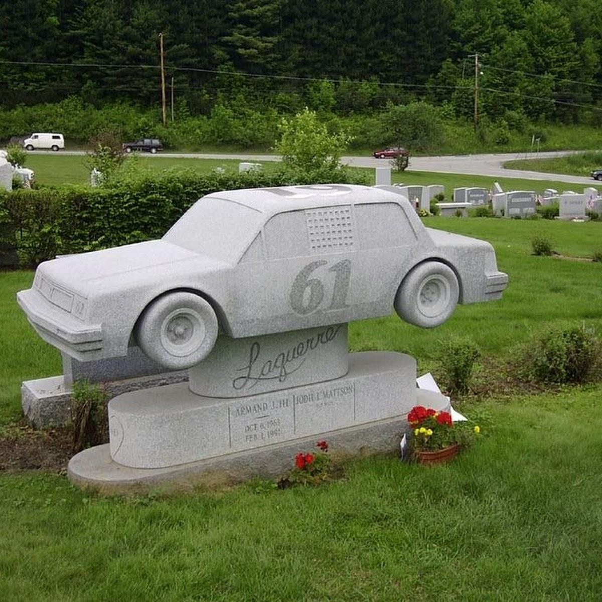 The Granite Sculptures of Hope Cemetery
