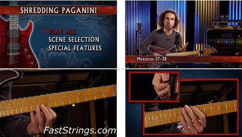 German Schauss - Shredding Paganini