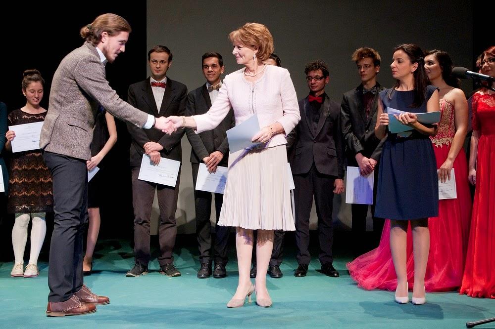 Principesa Margareta a premiat Tinerele Talente al României