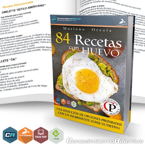 84 Recetas con huevo
