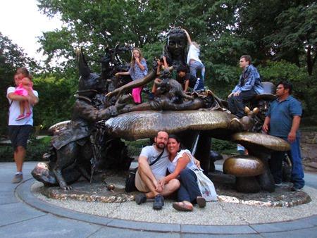 Alicia en el País de las Maravillas, Central Park