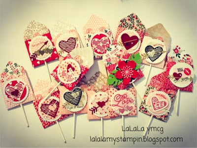 Some Valentines Day lollies