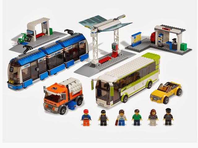 8404 レゴ シティ 輸送ステーション