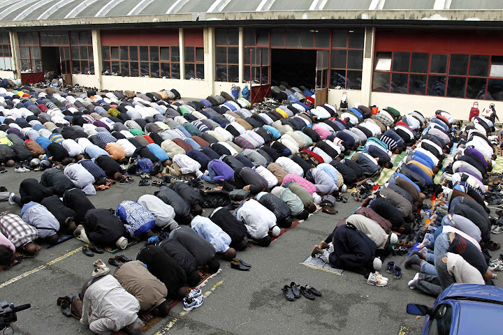 European secularism, nihilism gives way to Islam