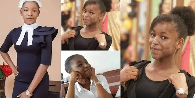 Young Woman Labelled The Youngest Nigerian Lawyer Slams Reports About Her Age (VIDEO)