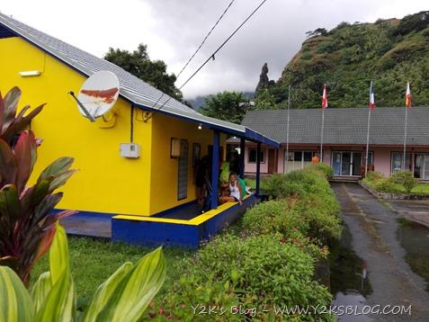 L'ufficio postale di Omoa - Fatu Hiva