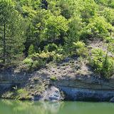 L'étang dans le ravin des Fouix. Les Hautes-Courennes (426 m), Saint-Martin-de-Castillon (Vaucluse), 9 mai 2014. Photo : J.-M. Gayman