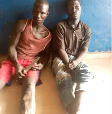 Police Arrested Two Highway Robbers On Lagos-Ibadan Expressway