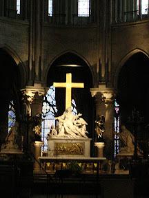 Altar of Notre Dame de Paris