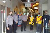 Jelang Penerapan New Normal, Ditbinmas Polda Banten Cek Protokol Kesehatan di Carrefour Kota Serang
