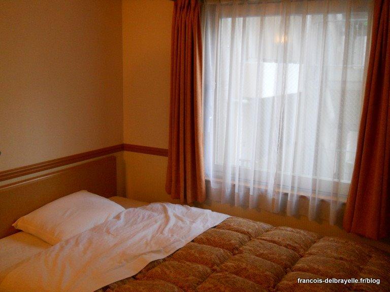 Chambre 509 à l'hôtel Toyoko Inn de Ikebukuro à Tokyo