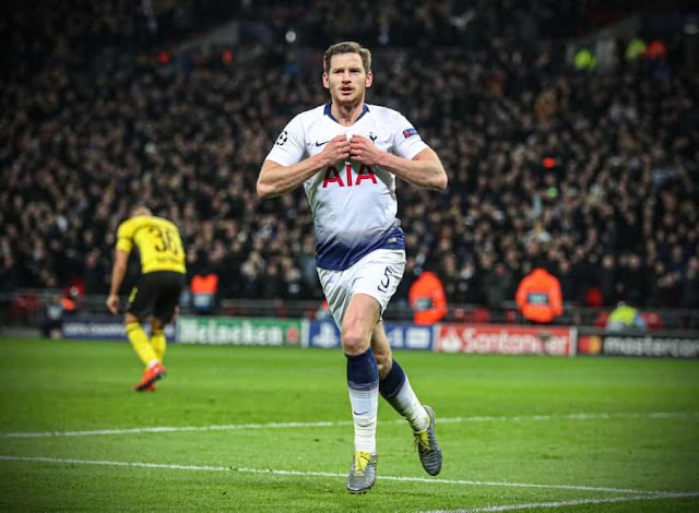 Jan Vertonghen Leaves Tottenham Hotspur Spurs.