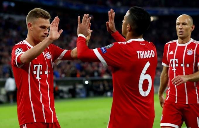 Video: Bayern Munich 3 – 0 Anderlecht [Champions League] Highlights 2017/18